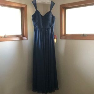 Navy Colored Formal Dress